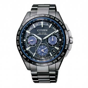 CITIZEN 40周年限定限量款GPS衛星對時光動能錶/CC9017-59L
