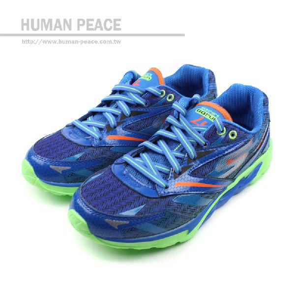 SKECHERS GO RUN 4 運動鞋 藍 童 no237