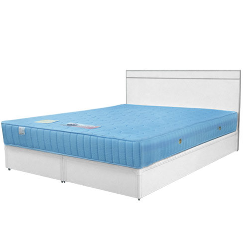 《yostyle》麗緻6尺雙人加大床組(床台+床頭片)(胡桃/純白/柚木/白橡)