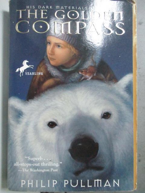 【書寶二手書T1/原文小說_HCD】The Golden Compass_PULLMAN, PHILIP