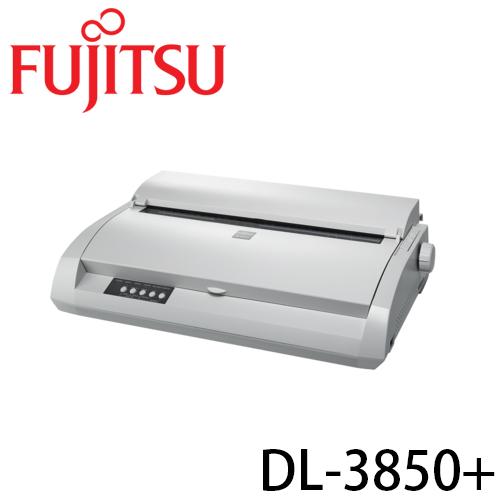 富士通 FUJITSU DL-3850+ 超靜音點陣印表機 並列/USB雙介面 (贈原廠色帶一捲)