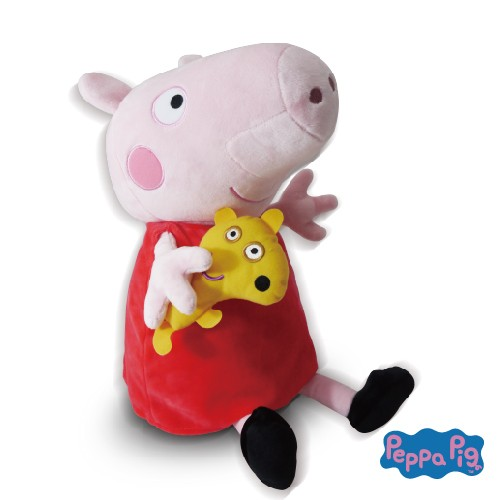 免運 【禾宜精品】Peppa Pig 佩佩豬 玩偶毯 多功能 玩偶毯 玩偶 毛毯 枕頭 Zoobies 現貨馬上出