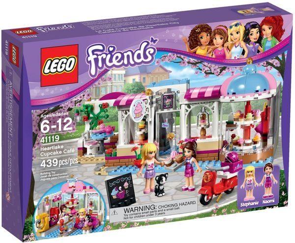 【LEGO 樂高積木】Friends 好朋友系列 - 心湖城杯子蛋糕咖啡屋 LT-41119