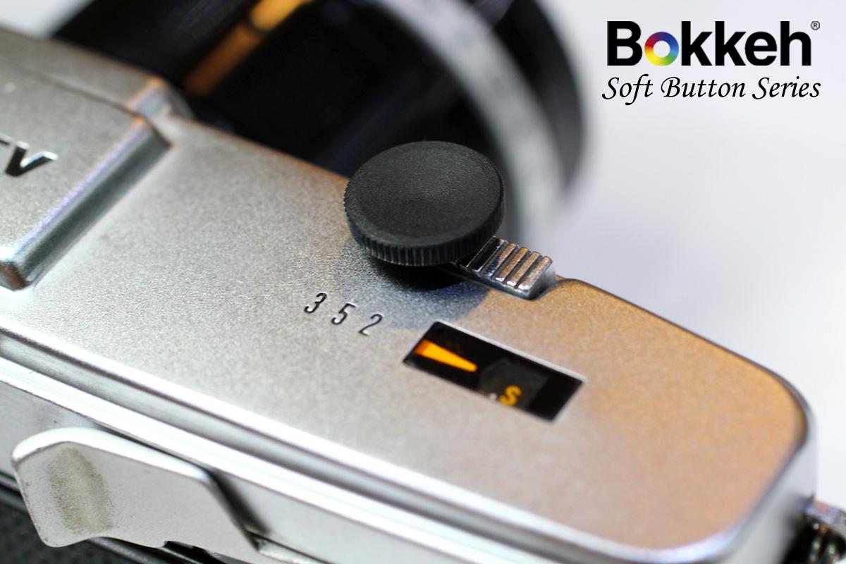 [享樂攝影] 傳統單眼機械相機快門鈕-12mm 經典黑 LOMO Fuji 富士 XE1 X100 底片相機