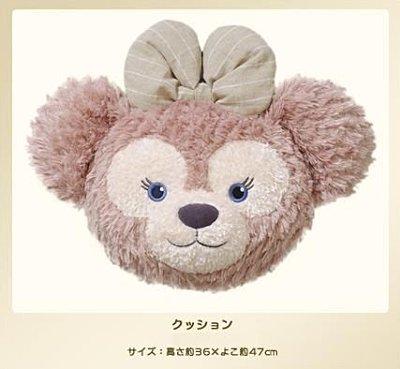 【真愛日本】14082700015   經典頭型立體抱枕-雪莉玫大臉   Duffy 達菲熊&ShellieMay 靠枕 東京限定