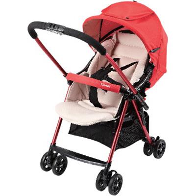 【悅兒樂婦幼用品舘】Combi 康貝 超輕量雙向嬰幼兒手推車 Cozy-耀紅