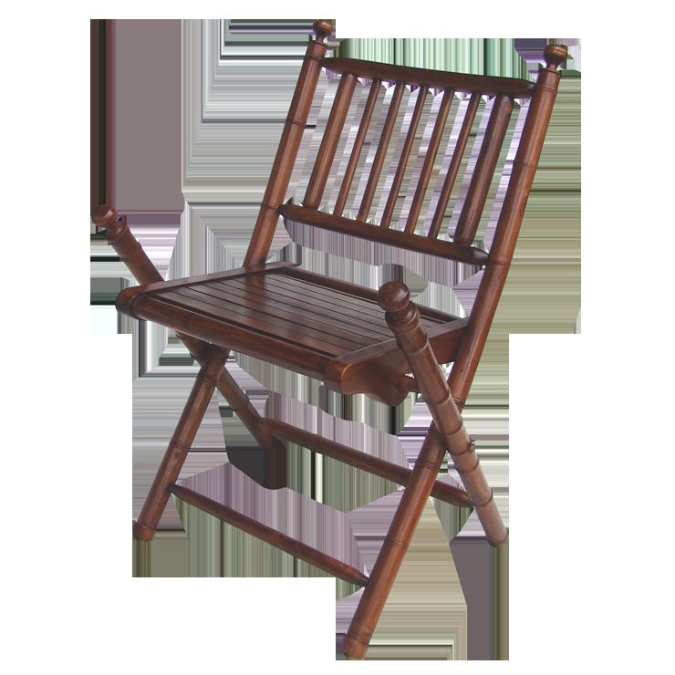 柚木摺疊椅  仿竹節雕刻  節節高昇 100%印尼柚木 全實木