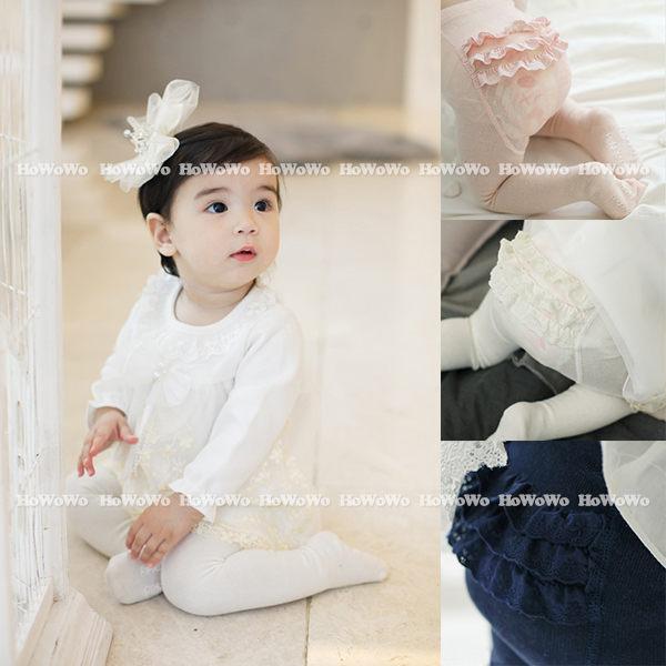 寶寶褲襪 蕾絲蛋糕童襪 嬰兒襪 褲襪 CA1128