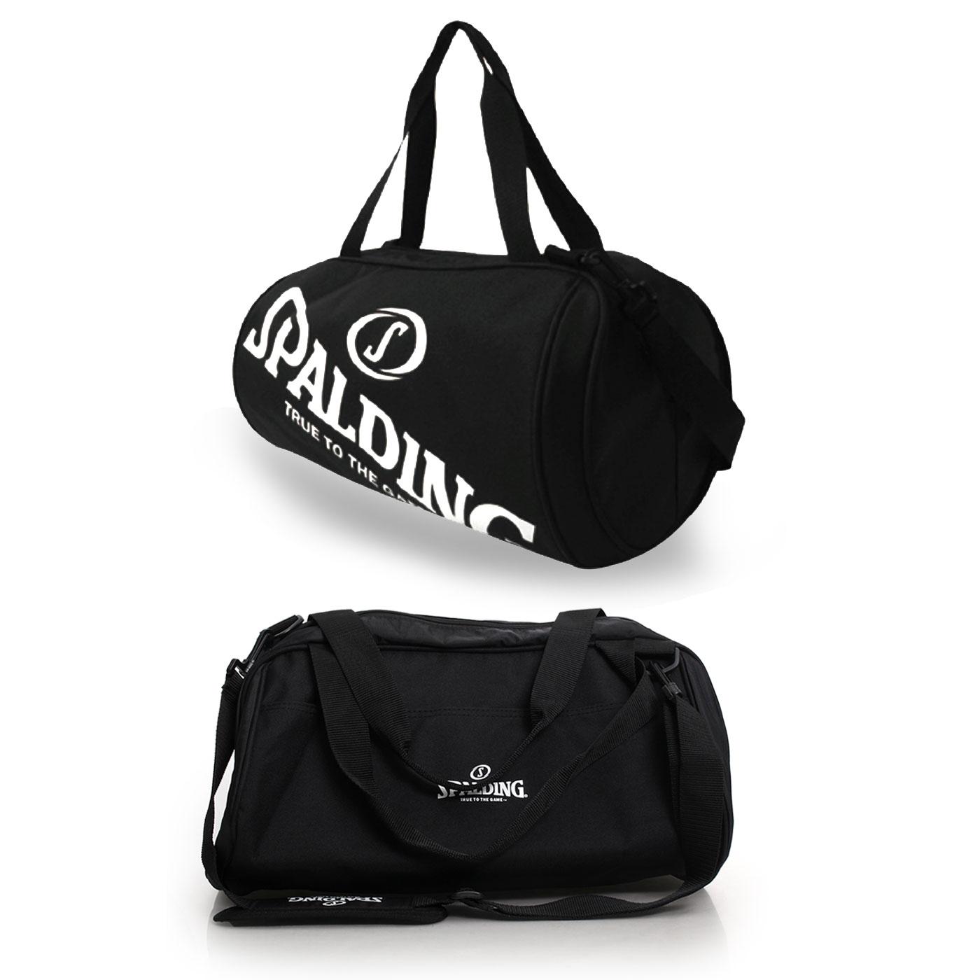 SPALDING 二顆裝休閒兩用袋(側背包 籃球袋 肩背包 NBA【05481016】≡排汗專家≡