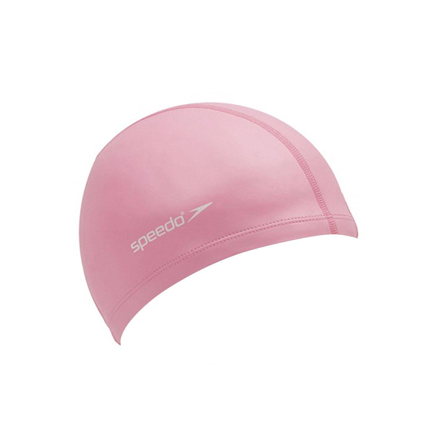 SPEEDO 成人合成泳帽粉紅(彈性泳帽 游泳 海灘 戲水【99300122】≡排汗專家≡