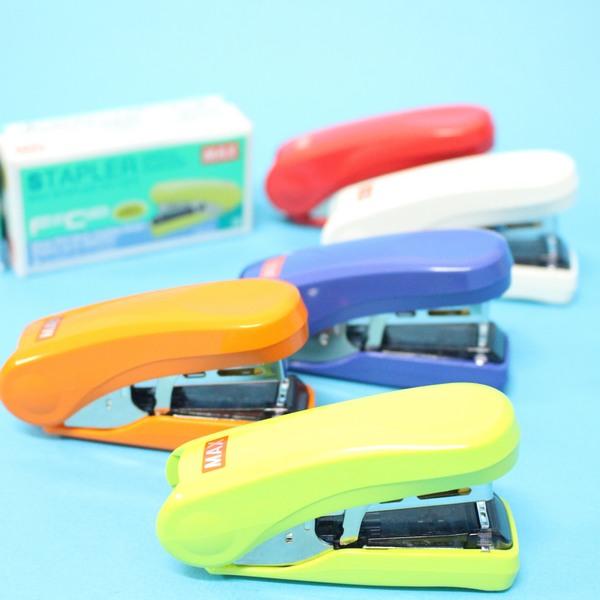 MAX釘書機 HD-10FS 日本製釘書機 訂書機(小)/一個入{定200}~雙排平針~
