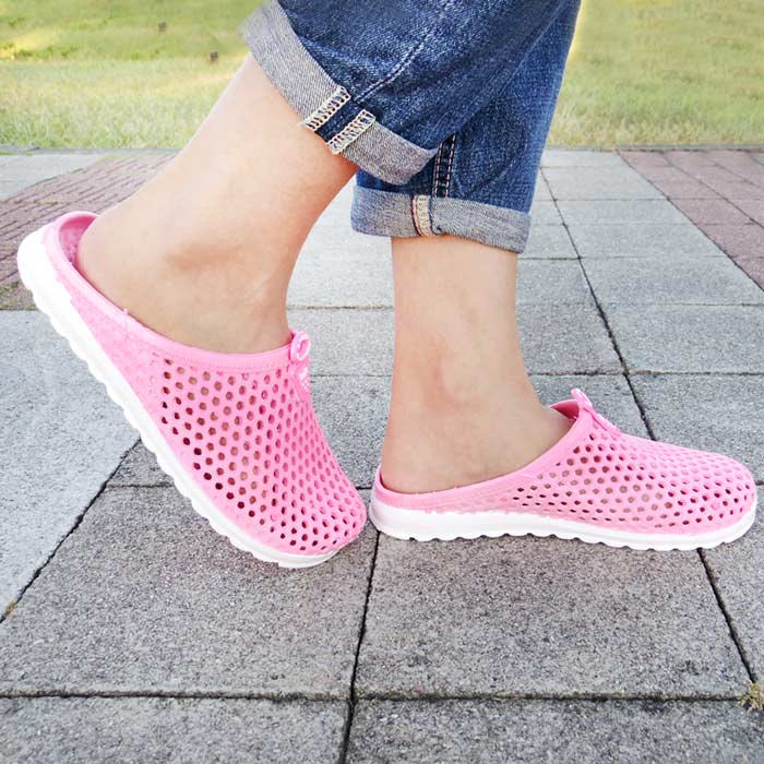 透氣洞洞防水休閒鞋-女款(包腳跟款/拖鞋款)