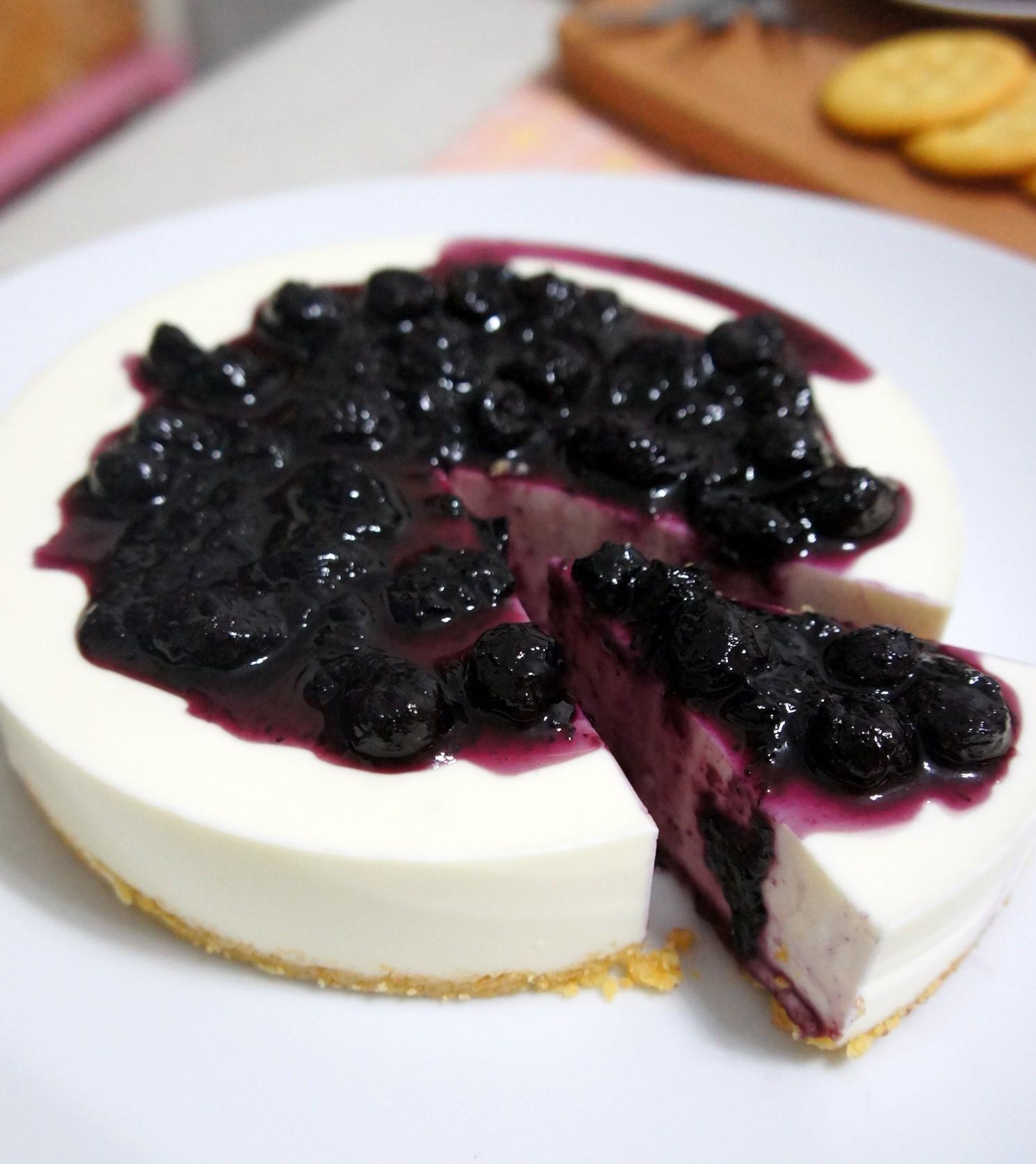 *巧米巧克*法式藍莓生乳酪六吋蛋糕