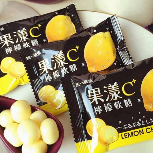 【0216零食會社】統一-果漾C檸檬軟糖