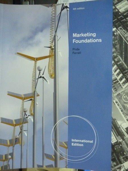 【書寶二手書T3/大學商學_QAL】Marketing foundations_Pride,etc_4/e