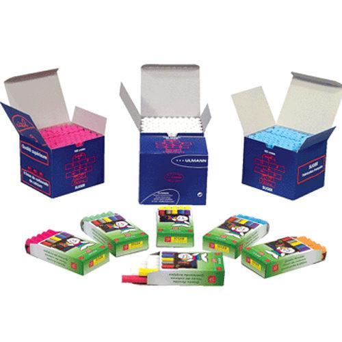 【STRONG 自強】吉爾多 法國原裝 精裝白色粉筆 (10支/盒)