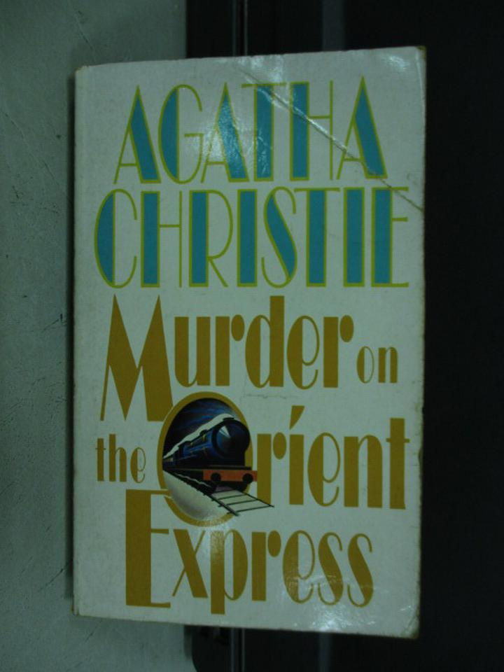 【書寶二手書T1/原文小說_KQJ】Murder on the orient express_1961