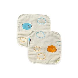 【淘氣寶寶】奇哥 Joie 雲朵羊六層紗方巾(2入-22x22公分) TAL609000 【奇哥正品】