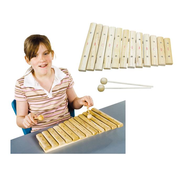 【華森葳兒童教玩具】樂器教具系列-木琴 H3-DMM071