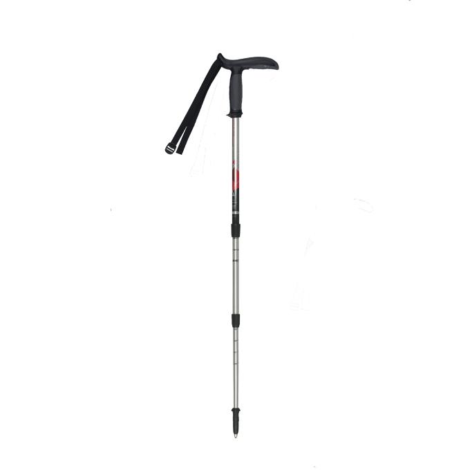 【露營趣】中和 義大利 MASTERS MA01S1814 Pocketrek 大頭寶特T型握把鋁合金登山杖