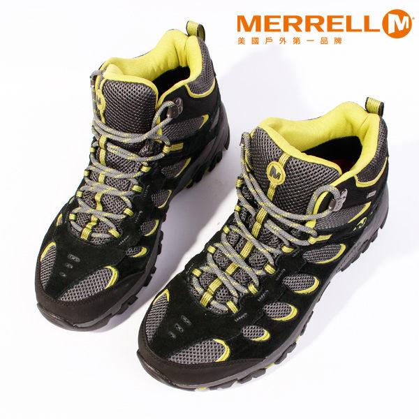 MERRELL RIDGEPASS MID GORE-TEX®多功能健行系列 黃 男 防水登山鞋│健行鞋│休閒鞋