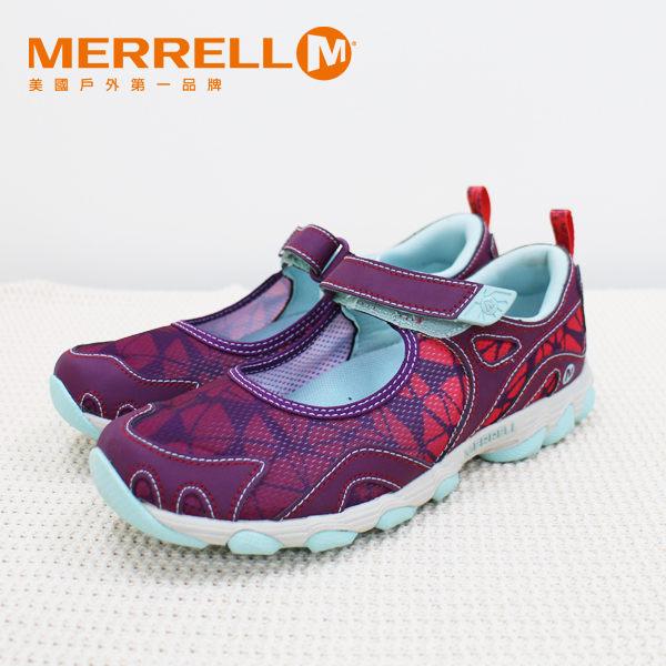 MERRELL CAPRA RAPID 多功能涼鞋 花紋紫 水陸兩棲│三棲運動│健行鞋│休閒鞋