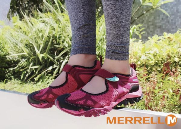 MERRELL CAPRA RAPID 多功能涼鞋 深紅 水陸兩棲│三棲運動│健行鞋│休閒鞋