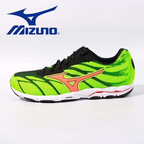 Mizuno 男路跑鞋 WAVE HITOGAMI 3 綠