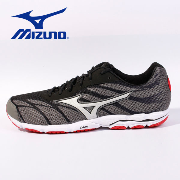 Mizuno 男路跑鞋 WAVE HITOGAMI 3 黑