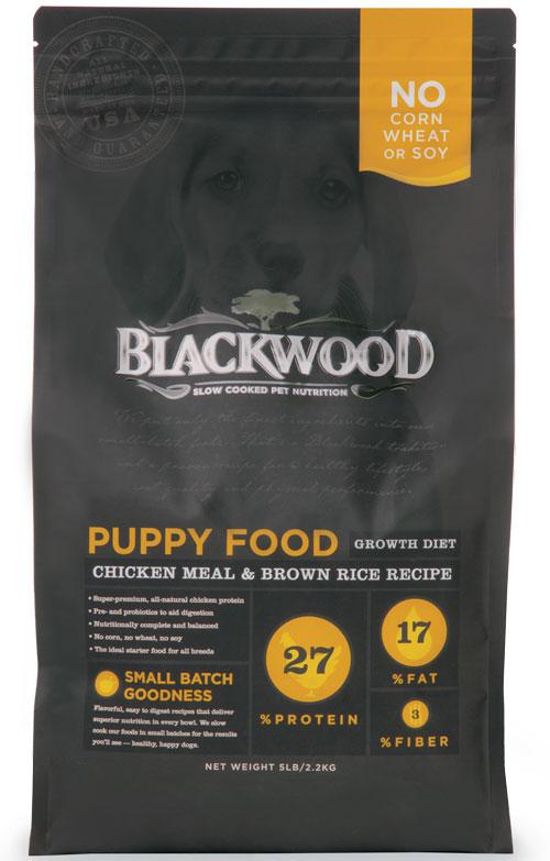柏萊富Blackwood 特調幼犬成長配方(雞肉+糙米)