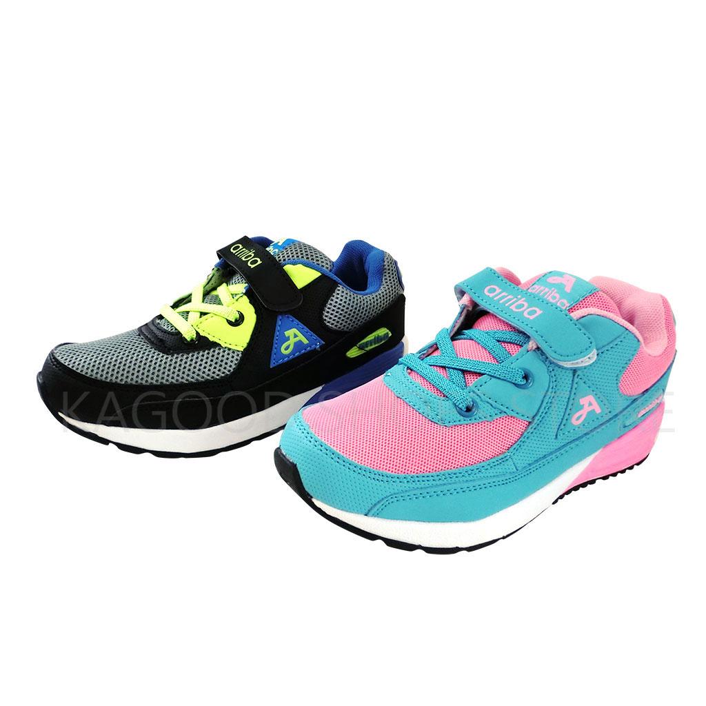 Arriba TD-6246 慢跑鞋 休閒鞋 粉/黑色款 女鞋 男鞋 童鞋