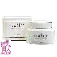 86736 SHISEIDO 資生堂 UV White 優白 按摩霜 100g