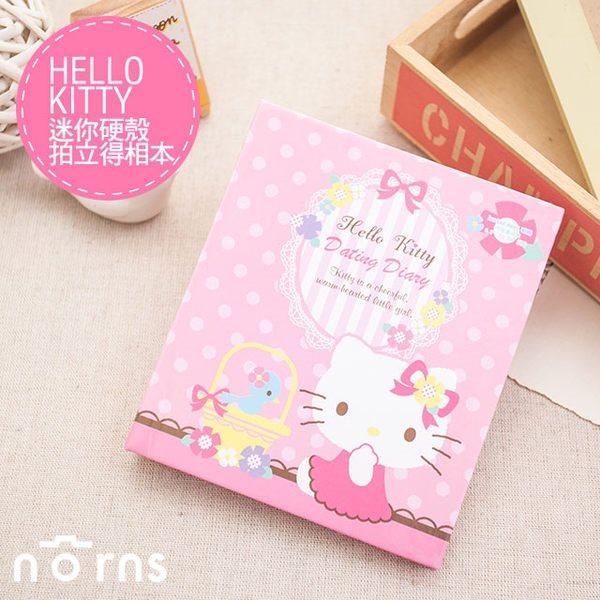 NORNS 【Hello Kitty迷你硬殼拍立得相本】三麗鷗 凱蒂貓 收納 拍立得照片 相簿 相冊