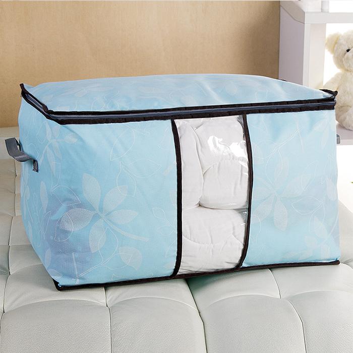 【酷創意】韓流新款  2015新款多彩樹葉棉被袋 加厚款可視窗環保棉被收納袋E6