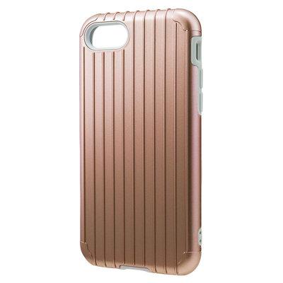 日本GRAMAS iPhone7  PLUS  旅行箱雙層防護,卡片/吊孔防摔手機殼