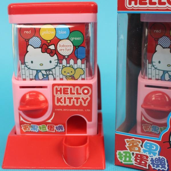 Hello Kitty扭蛋機 凱蒂貓 迷你扭蛋機/一個入{特169}~正版授權