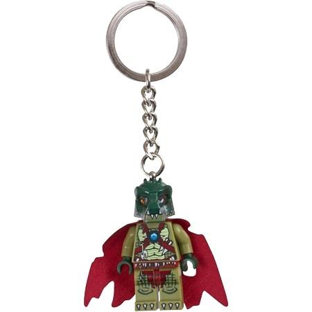 ►法西歐_桃園◄  LEGO 樂高 KEYCHAIN 鑰匙圈 CHIMA 神獸系列 Cragger 鱷霸王