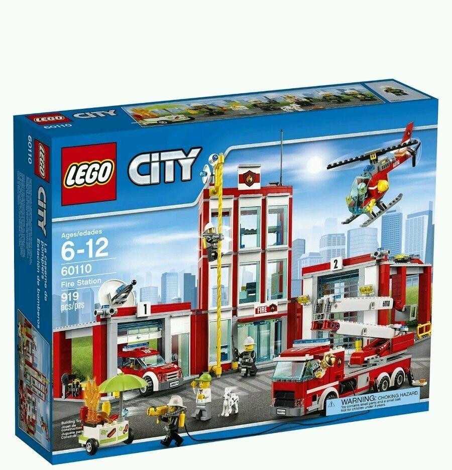 【瞎買天堂x現貨免運】樂高 LEGO 城市系列 消防局 60110【TYLECT01】