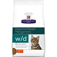 Hill's希爾思處方飼料│貓用w/d 貓WD 消化/體重處方 8.5LB/8.5磅 (似皇家處方FR31)