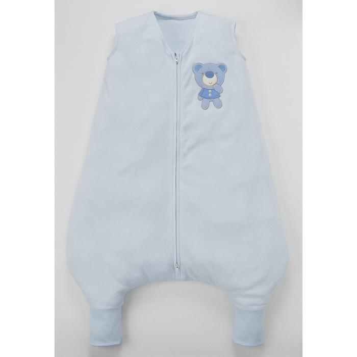 Baby City 娃娃城 - 奈米負離子背心式防踢睡袍 -M (藍)