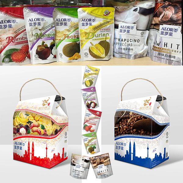亞羅星 水果乾+咖啡雙重饗禮盒 免運費喔!!