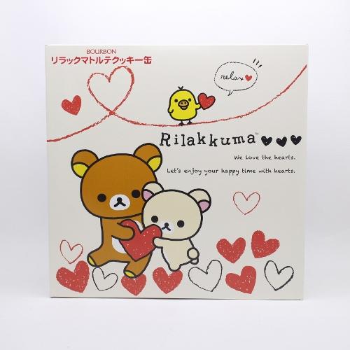 【橘町五丁目】限時下殺! 北日本拉拉熊-情人版 奶油餅乾禮盒 附提袋喔