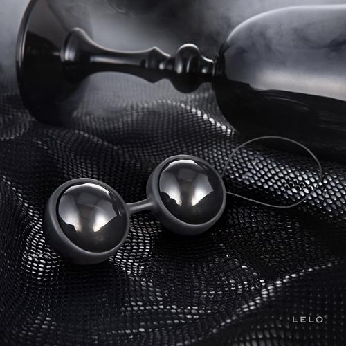 [漫朵拉情趣用品]瑞典LELO*Luna Beads Noir 露娜球(聰明球)_黑珍珠(後庭專用) DM-9361108