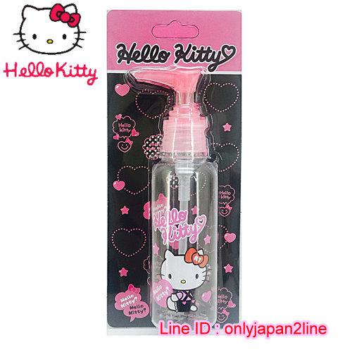 【真愛日本】16101900021擠壓瓶100ML-KT抱抱桃心    三麗鷗 Hello Kitty 凱蒂貓  收納盒/擠壓瓶/噴霧瓶  旅用組