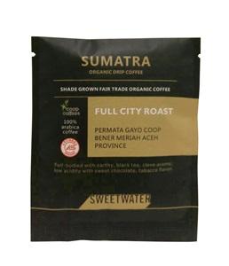 【SWEETWATER】蘇門答臘有機咖啡豆--掛耳式