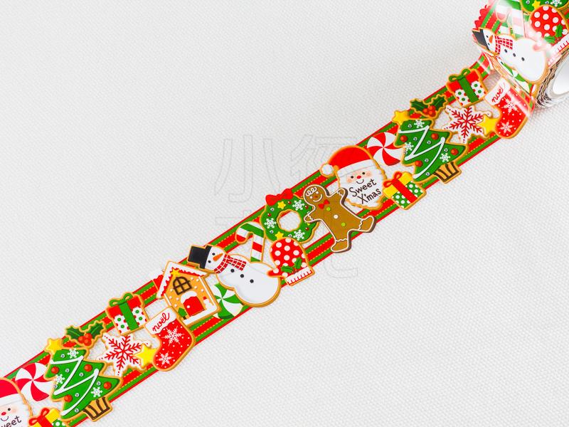 *小徑文化*日本進口 Katakata 膠帶 耶誕節系列 - 糖霜餅乾 ( W01-DT2-0005 )