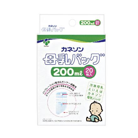 【悅兒樂婦幼用品舘】Kaneson 母乳冷凍袋-200ml 20枚入