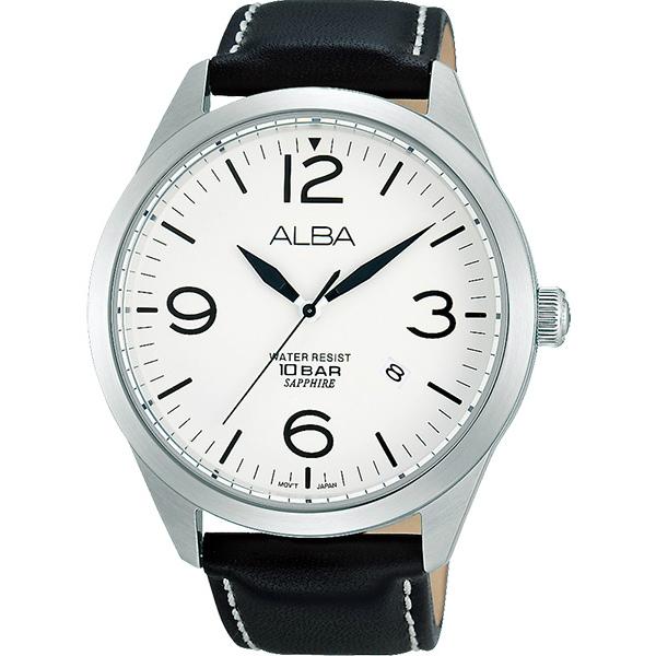 ALBA VJ42-X126Z(AS9755X1)城市時尚腕錶/黑面44mm