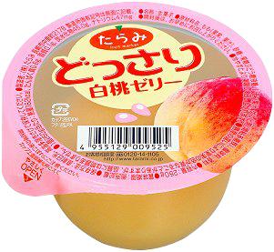 ✿仲菁✿日本進口水果果凍-白桃口味6入/盒
