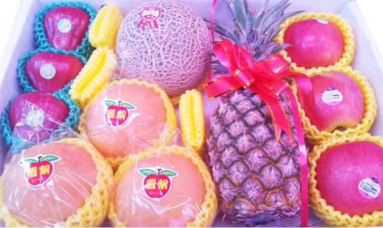 ✿仲菁✿四季水果組合專用禮盒(適用拜拜專用五果)-附美觀水果專用提袋